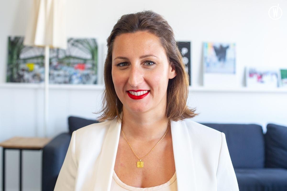 Rencontrez Anaïs, Directrice de Clientèle - Hopscotch Event - Hopscotch Groupe