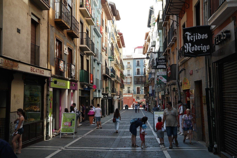 Irse a trabajar a Pamplona