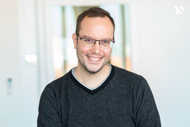 Rencontrez Jérôme, Team Leader R&D - DNA Script