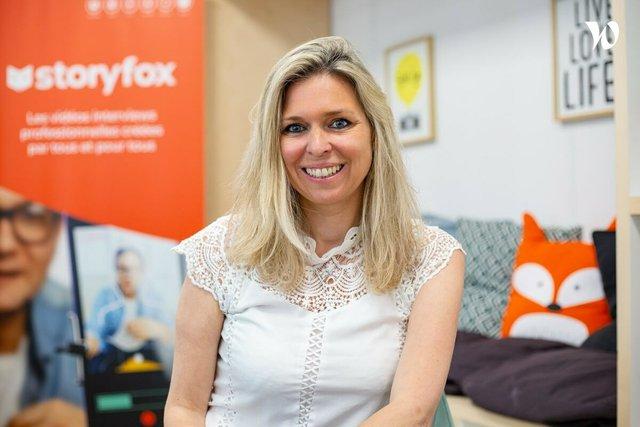 Rencontrez Julie, Fondatrice & CEO de Storyfox - Storyfox