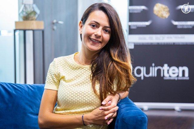 Rencontrez Mariem, Co-fondatrice et Directrice Produit  - Quinten