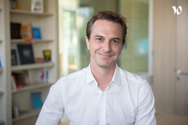 Rencontrez Julien, Directeur Général France - Up