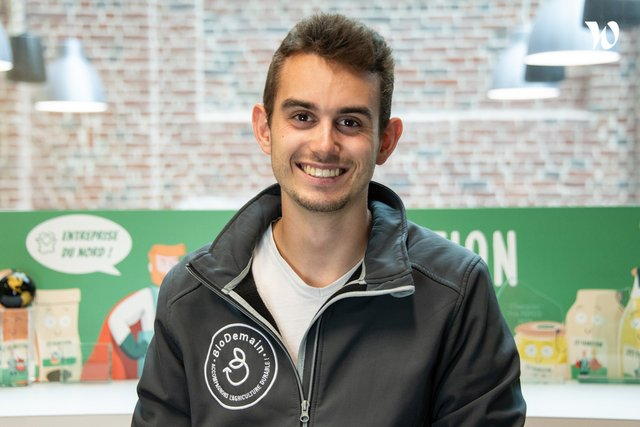 Rencontrez Maxime, Cofondateur - BioDemain