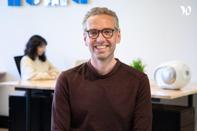Rencontrez Claudio, Directeur des contenus - NUMA