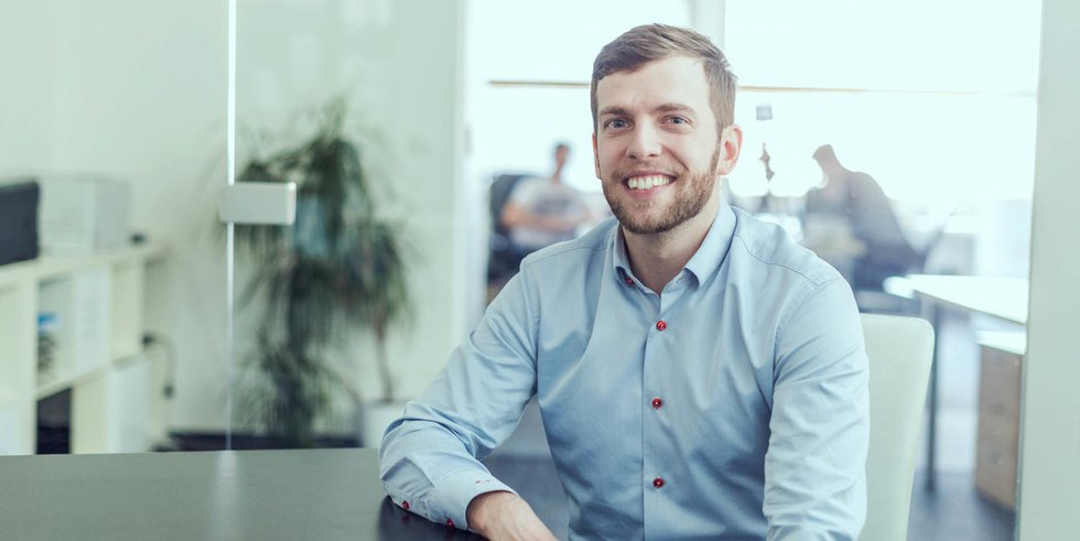 Michal Holzknecht, Proud Business Developer - Proudly