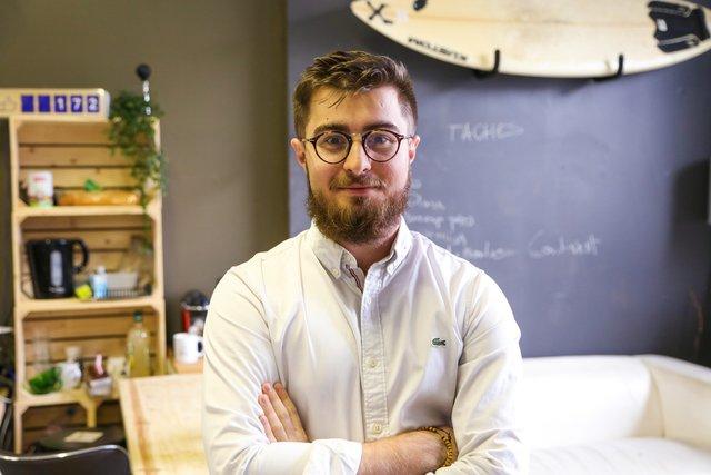 Rencontrez Adrien, Responsable Marketing digital - Tshirt corner