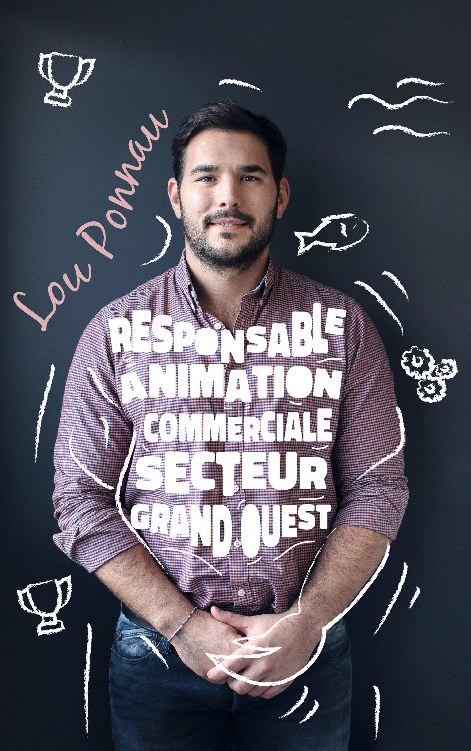 Lou Ponnau : Responsable animation commerciale (secteur Grand Ouest)