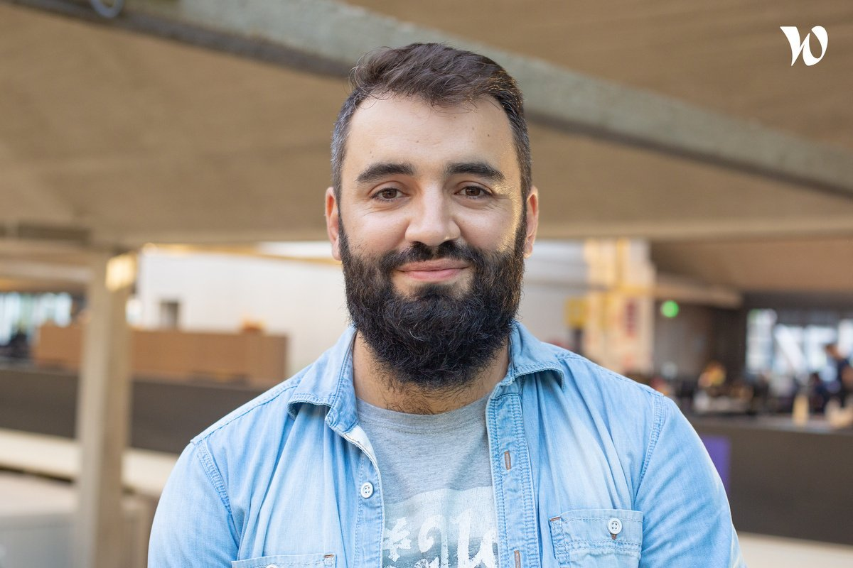 Rencontrez Thibaud, Lead software developer - Bulldozair