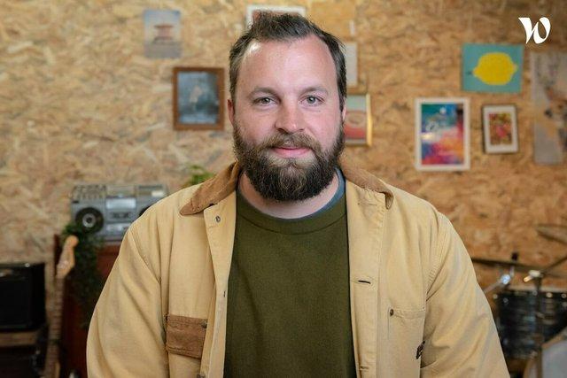 Rencontrez David, Directeur Général et co-fondateur - PROGRESSIF MEDIA