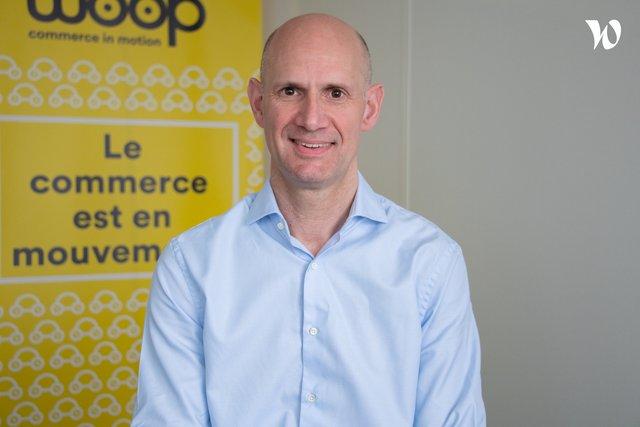Rencontrez Denis, Directeur du développement - Woop