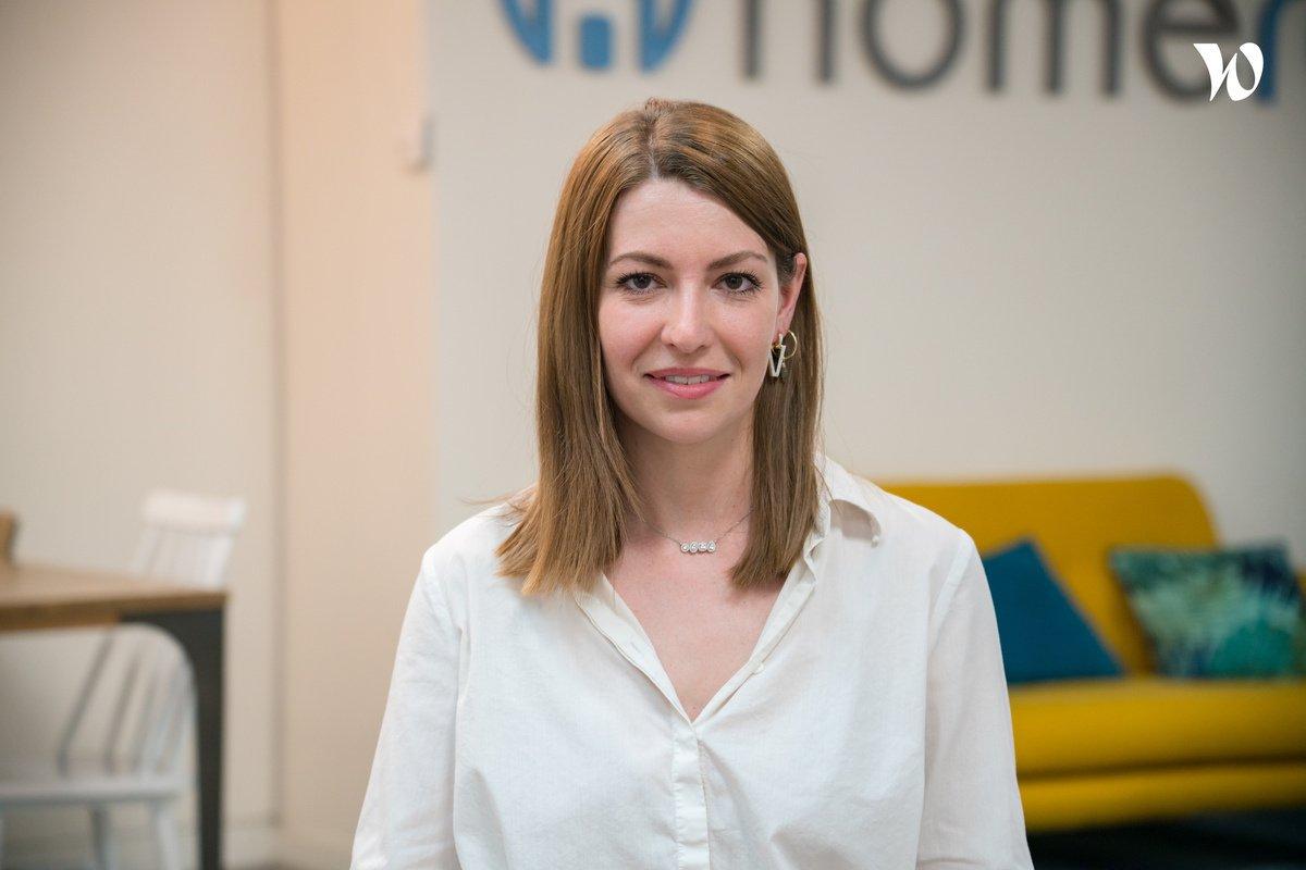 Rencontrez Maud, Team Leader Account Managers  - Homerez
