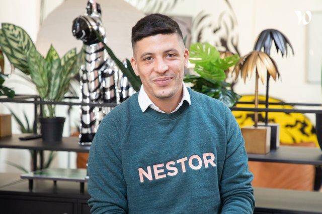 Rencontrez Sofiane, VP Sales - Nestor