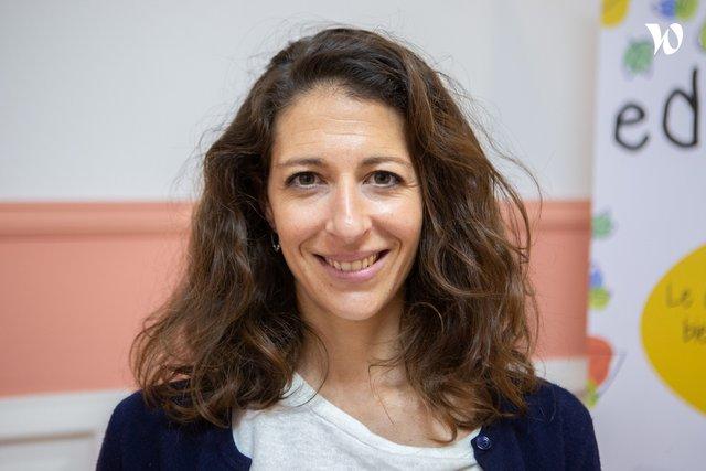 Rencontrez Eléonore, Co fondatrice - Edumiam