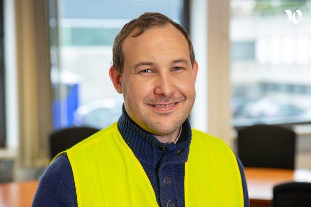 Rencontrez Pascal , Responsable Logistique Entrepôt  - Aldi
