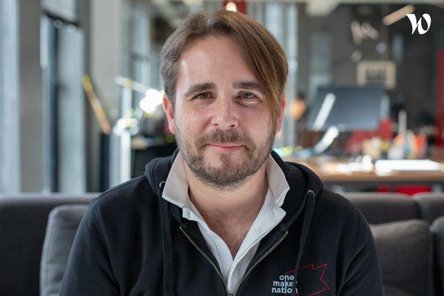 Rencontrez Pierre, Co-fondateur - EP