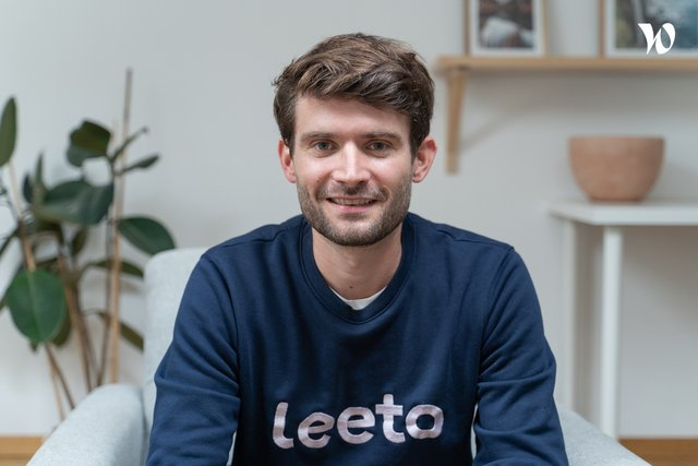 Rencontrez Arthur Reboul, CEO - Leeto