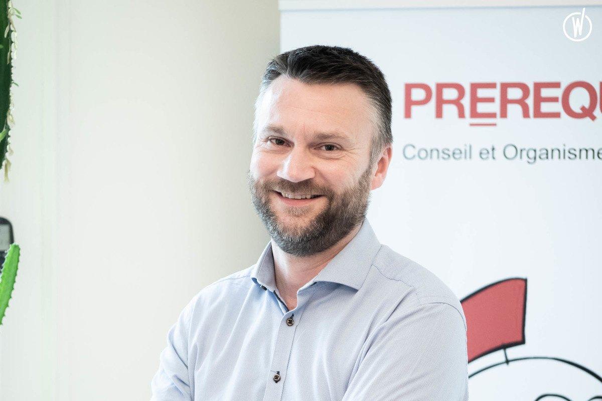 Rencontrez Franck, Directeur de la BU DATA - Prerequis