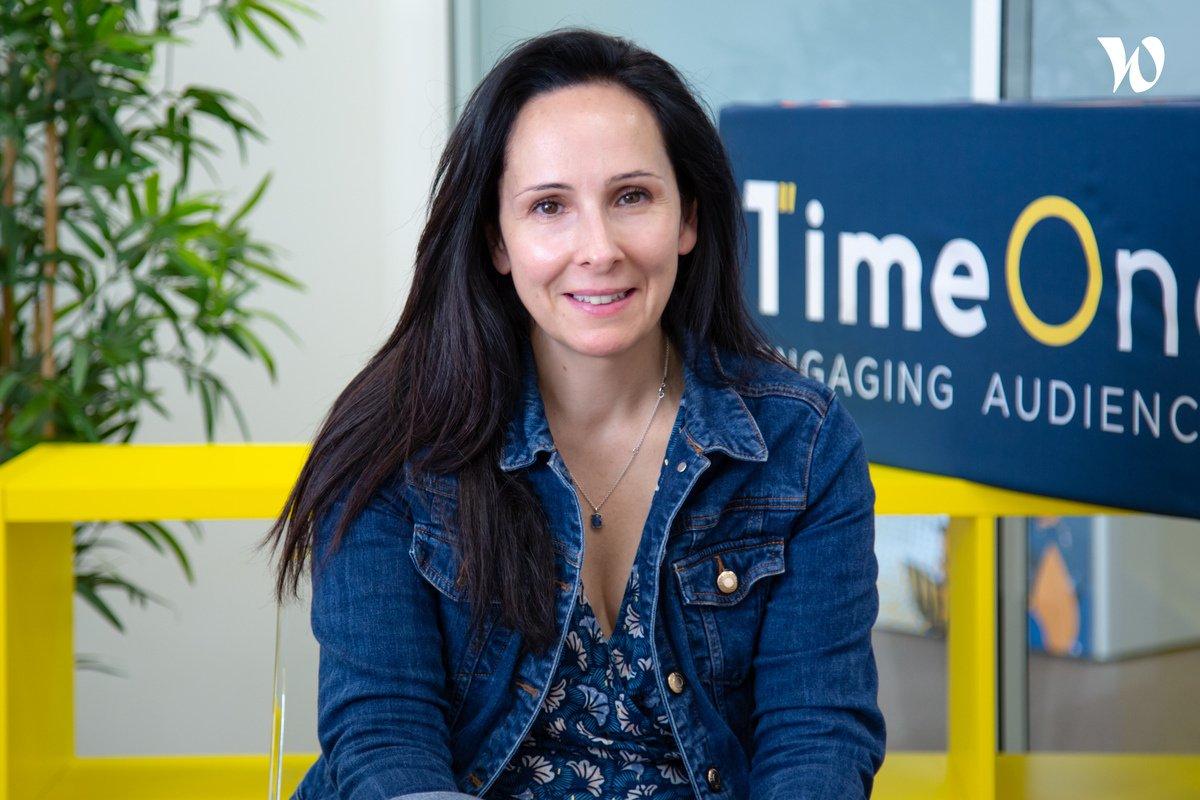 Rencontrez Monica, Directrice Associée Performance - TimeOne