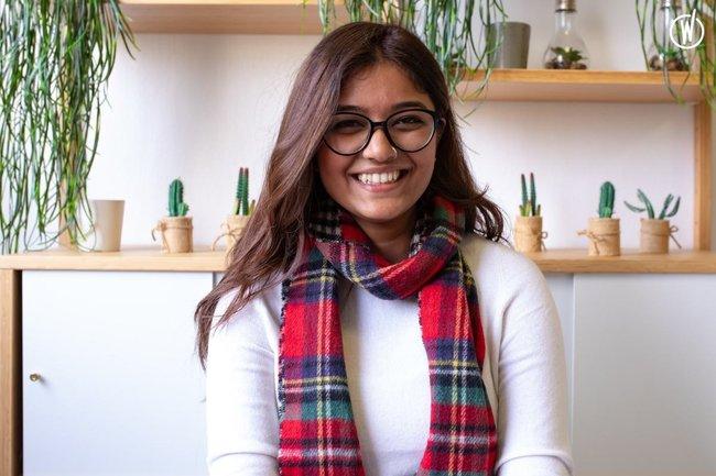 Rencontrez Akshita, Data Scientist - Jus Mundi