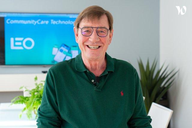 Rencontrez William, Founder & CEO - Community Care
