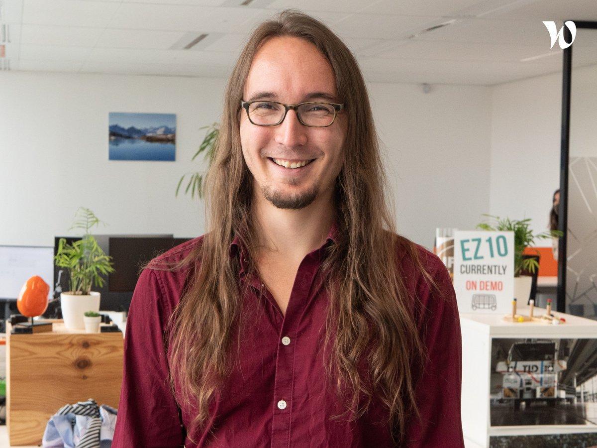 Rencontrez Paul, R&D Engineer - EasyMile