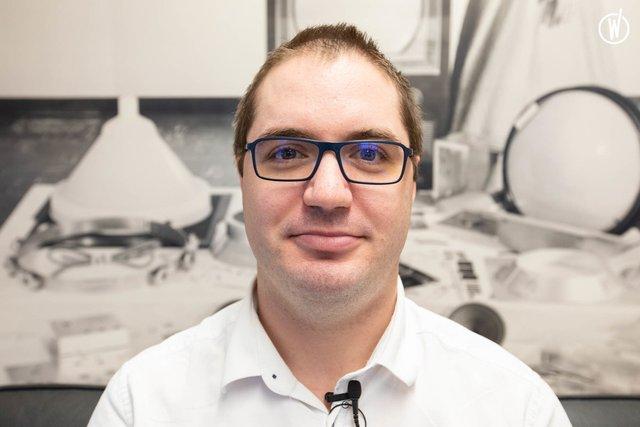 Rencontrez Brice Chapel , Directeur Technique - OTO Technology