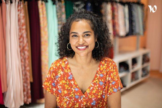 Rencontrez Cynthia, Responsable marketing digital & Responsable production - Les petites jupes de Prune