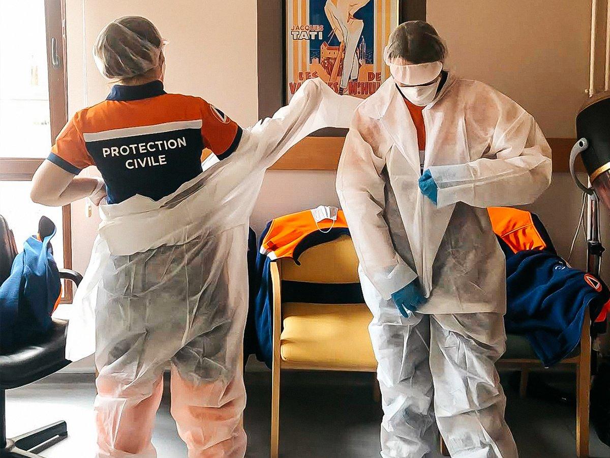 Coronavirus : témoignage d'une secouriste bénévole en EPHAD