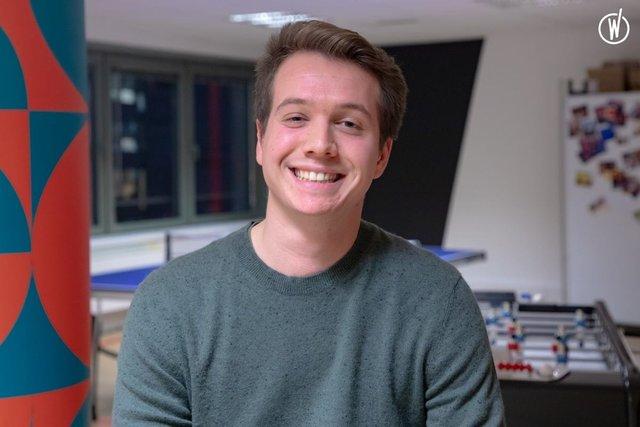 Rencontrez Robin, Junior Consultant - Sentelis, Part of Accenture Applied Intelligence