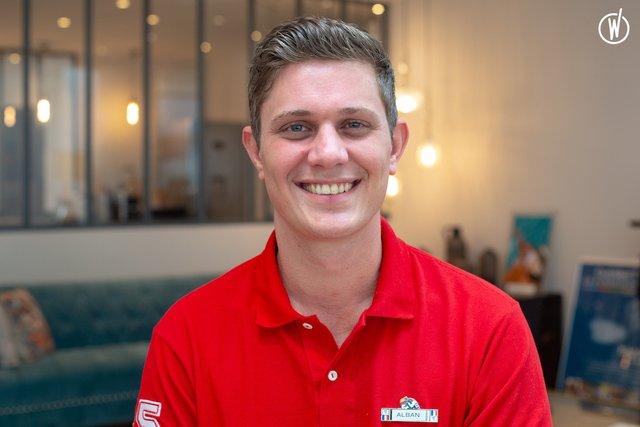 Rencontrez Alban, Conseiller de vente - Club Med