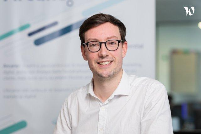 Rencontrez Arnaud, Responsable Innovation - Arcane