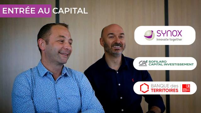 Annonce partenariat investisseur - Synox
