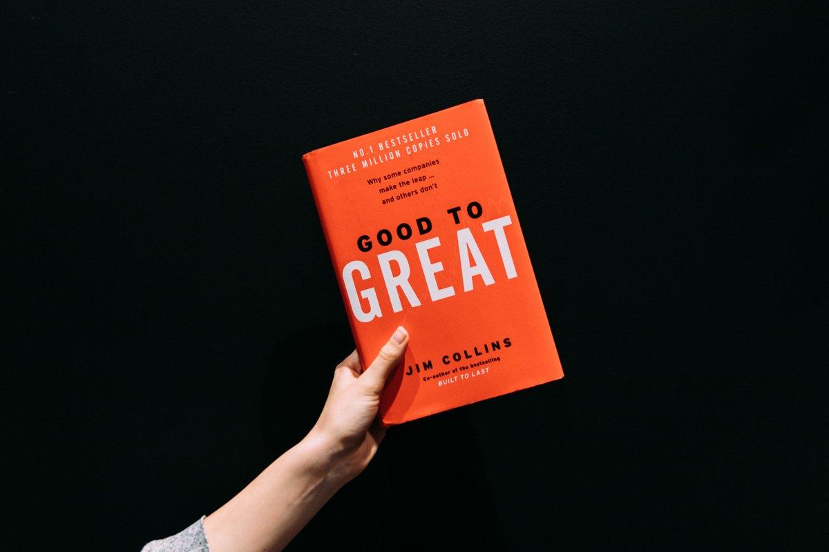 Good to great, le livre de Jim Collins