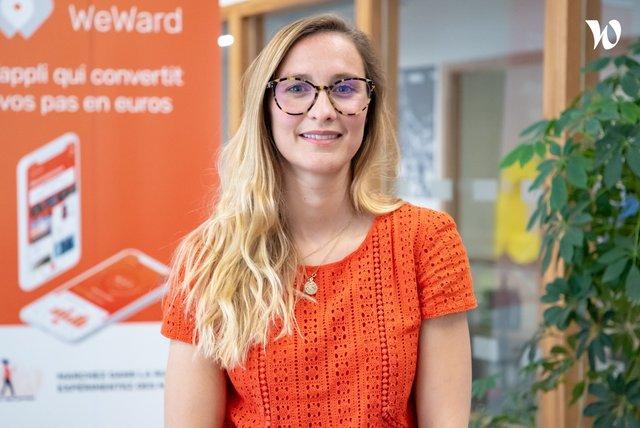 Rencontrez Marie-Charlotte, Business Development - WeWard