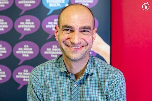 Rencontrez Antoine , Responsable Pôle Actualités - Nomination