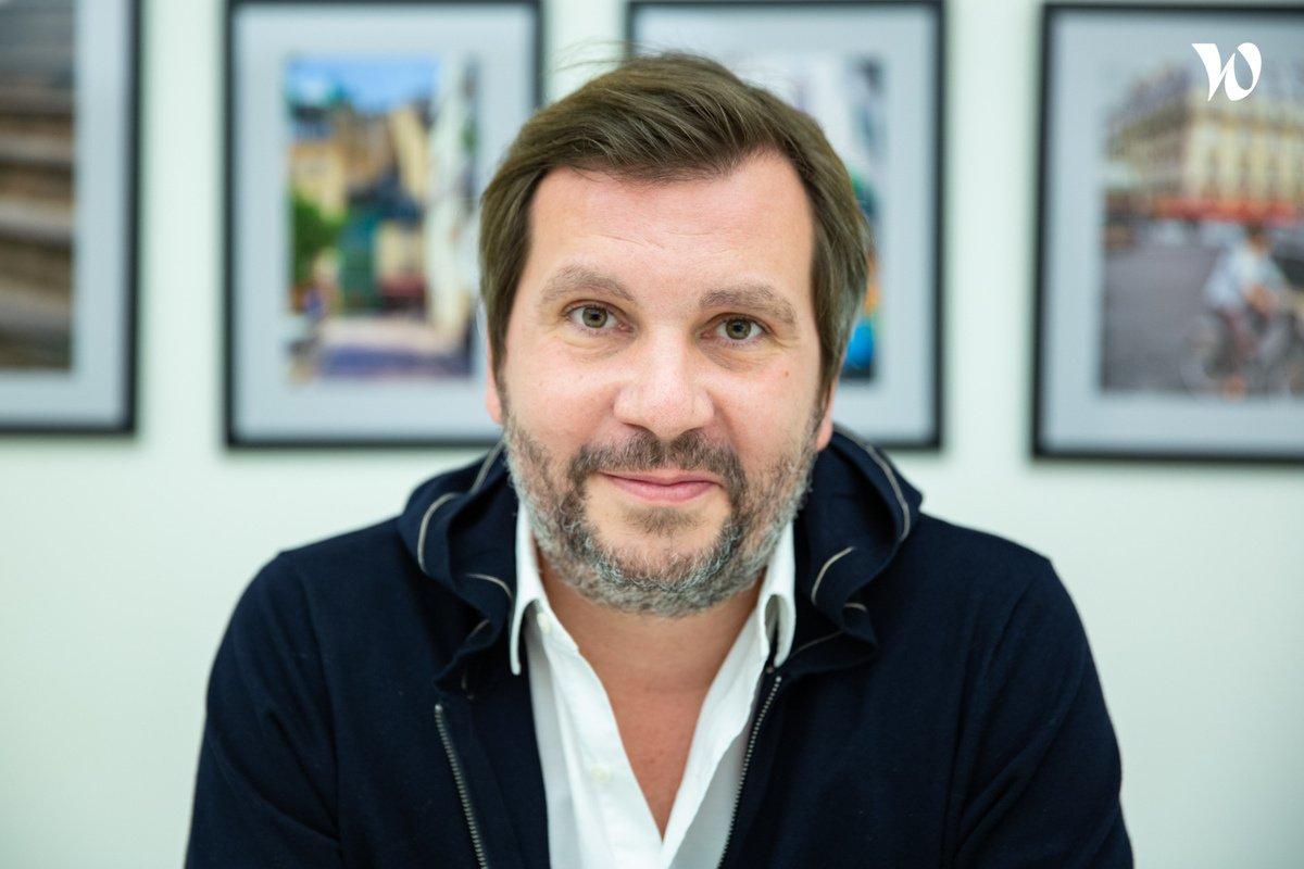 Rencontrez Yann, CEO & Co-fondateur - Stairwage