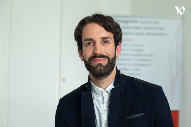 Rencontrez Pierre-Antoine, Responsable digitalisation - Caneva
