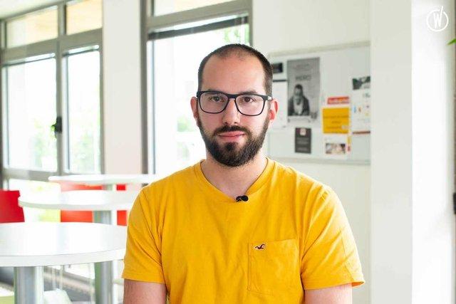 Rencontrez Pierre-Julien, Développeur Front - Cim - DL Software