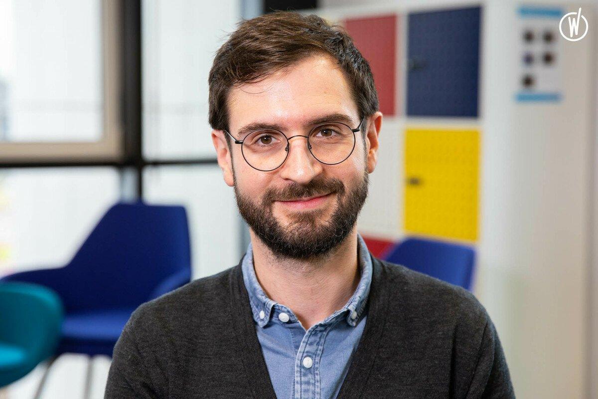 Rencontrez Julien, Responsable UX - Groupe Fnac Darty